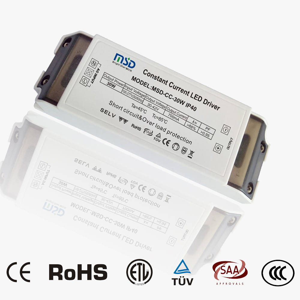 Indoor CC LED driver 30W 700mA