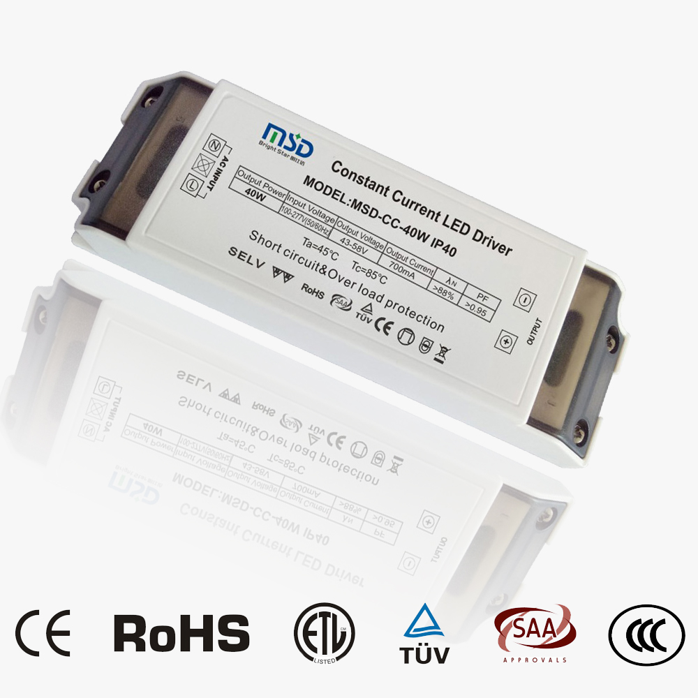 Indoor CC LED driver 40W 700mA