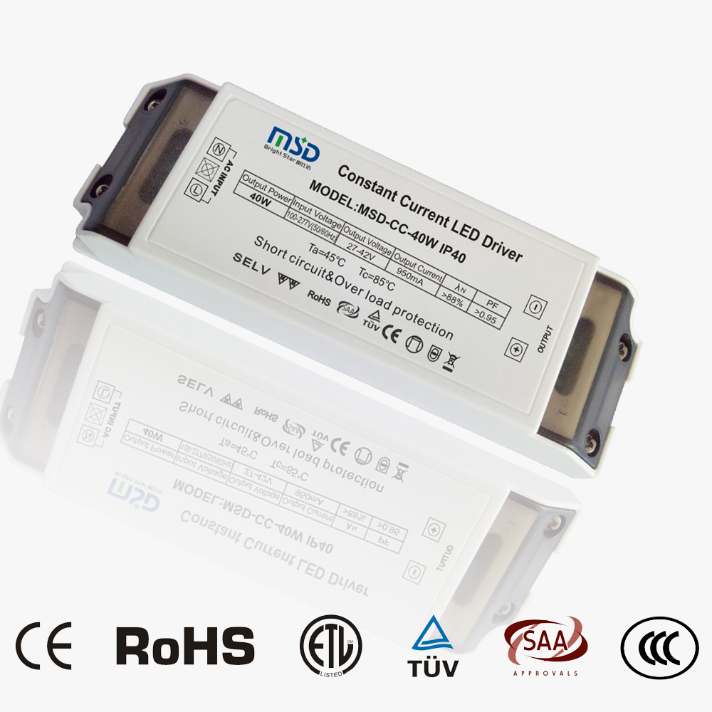 Indoor CC LED driver 40W 950mA