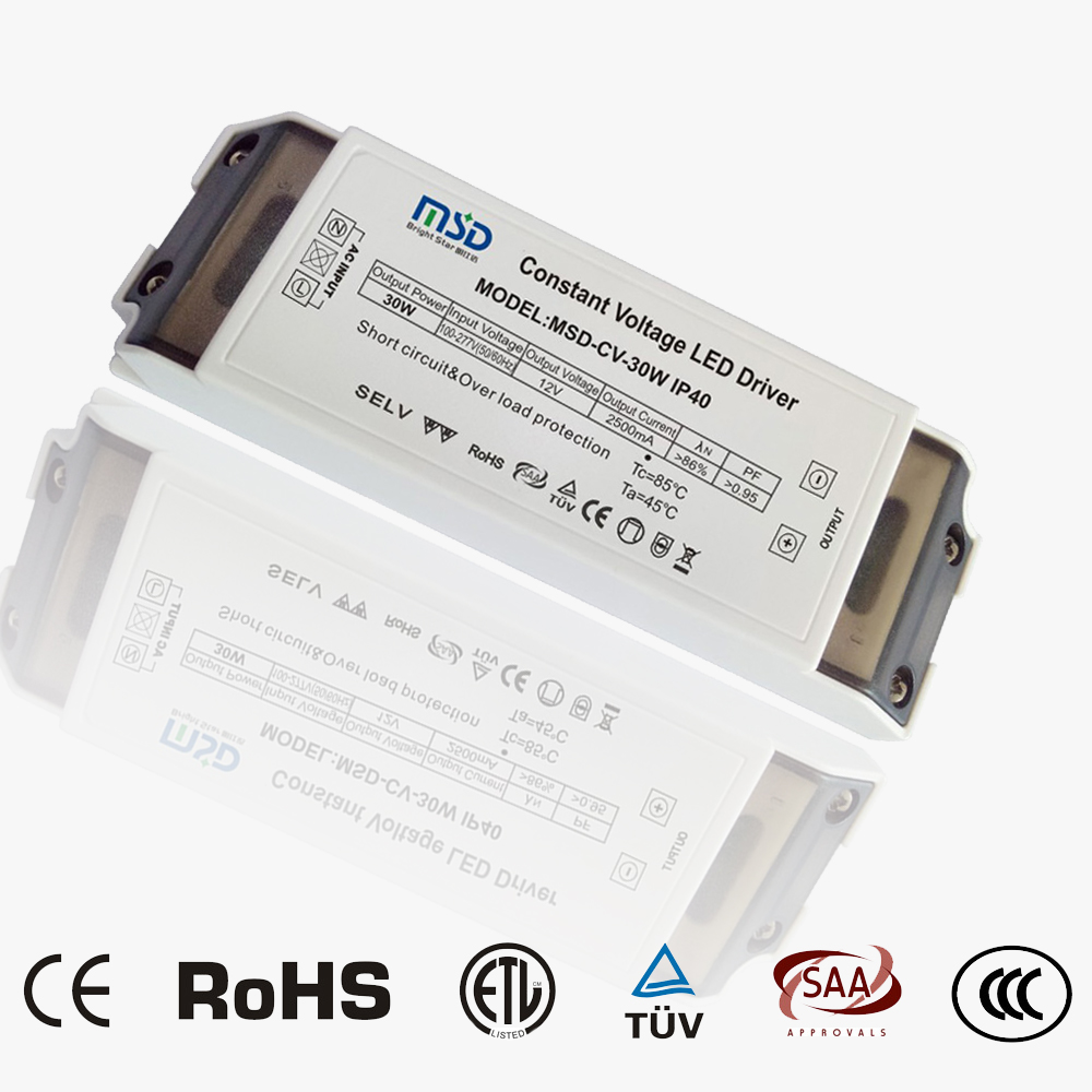 Indoor CV LED driver 30W 12V