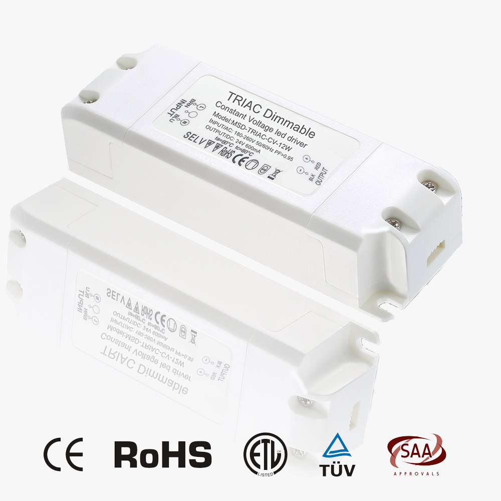 Triac dimmable CV 12W 24V