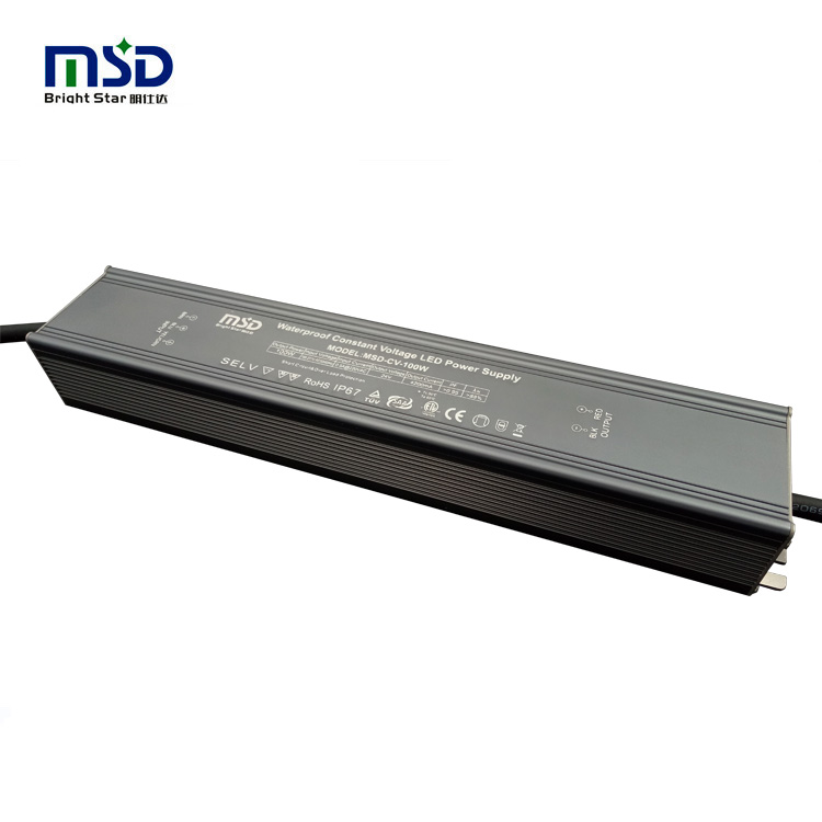 Outdoor CV 100W 24V slim led driver