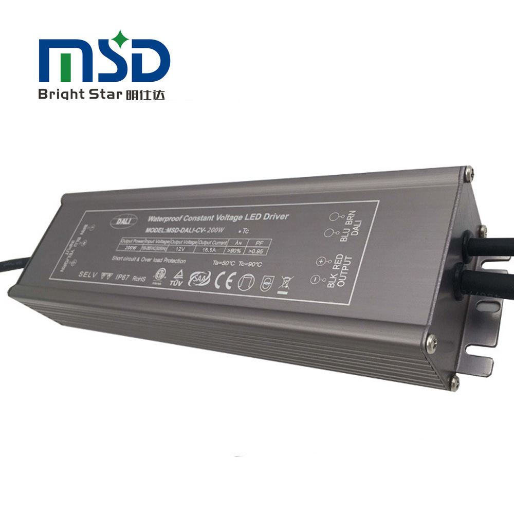 Outdoor waterprood CV led driver 200W
