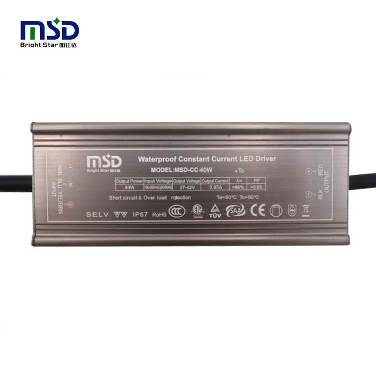Outdoor CC LED driver 40W